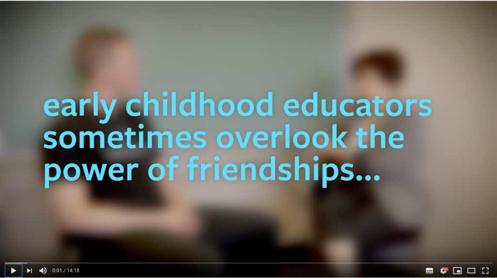 The Power of Friendships in Early Childhood ​